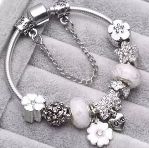 NEW silver and white charm bracelet for Sale in Buckley, WA