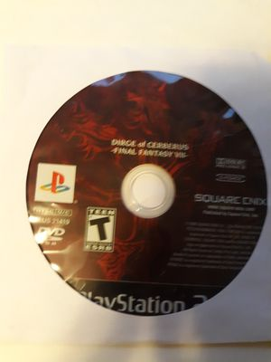 PS2 Final Fantasy VII Dirge of Cerberus Playstation 2 for Sale in Lancaster, OH