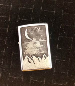 Zippo Lighter Crescent Moon Above Mountains for Sale in Forest Park, GA