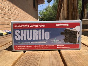 Shurflo Fresh Water Pump for Sale in Denver, CO