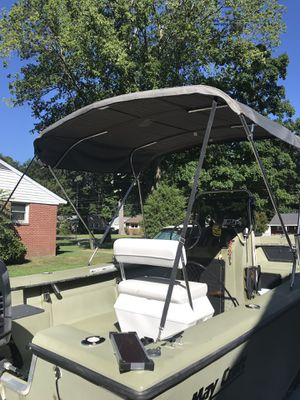 Bimini top light gray for Sale in Yorktown, VA