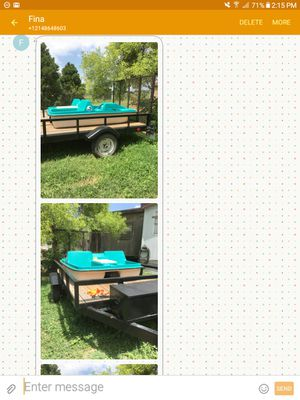 Paddle boat, sits 4, $300 for Sale in San Angelo, TX