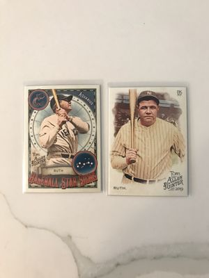 Babe Ruth Yankees Baseball cards for Sale in Covina, CA
