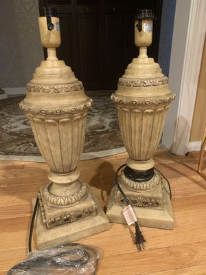 Antique-looking lamp bases for Sale in Little Falls, NJ