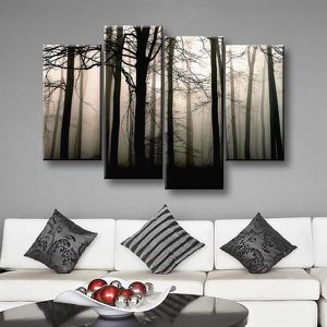 Dark Forest Canvas Print for Sale in Queens, NY