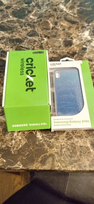 Samsung galaxy A10e cricket for Sale in Houston, TX