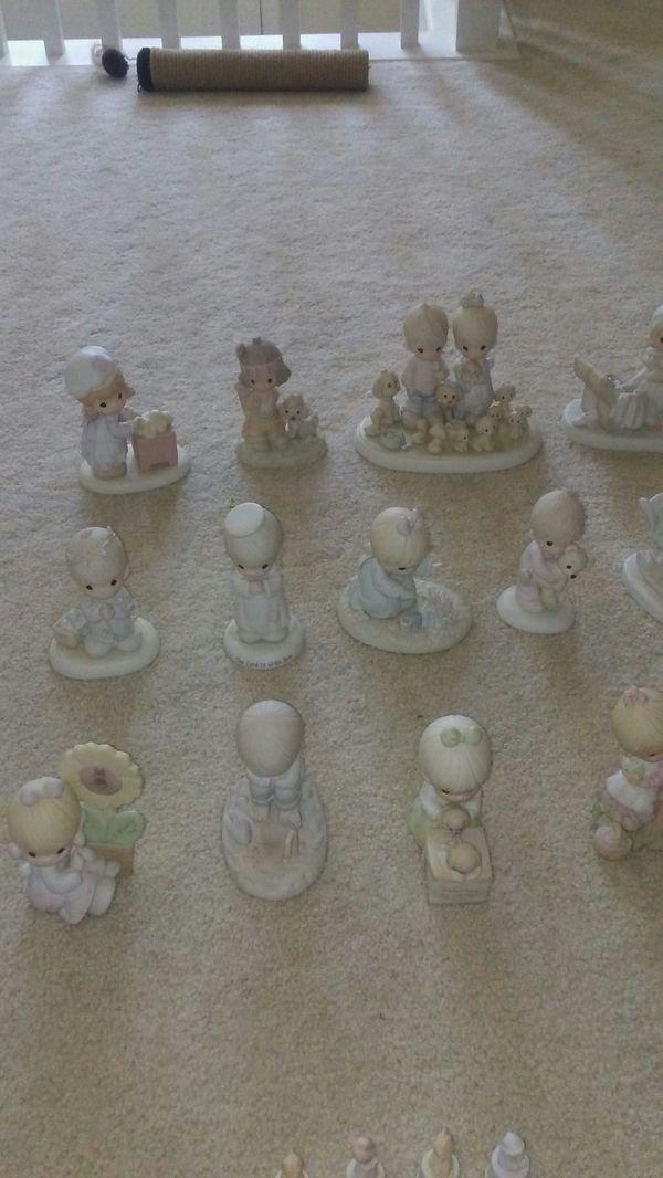 25 precious moments collectible figurines