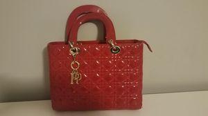 DIOR v.3 Scorpion Red Elegant Leather Hand Bag for Sale in Atlanta, GA