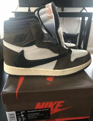 Air Jordan 1 Travis Scott Men Size 7.5 (Receipt) for Sale in New York, NY