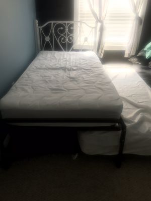 twin bed with double bed for Sale in Sea Bright, NJ