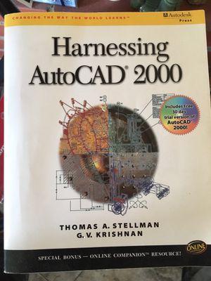 Harnessing Autocad 2000 for Sale in La Mirada, CA