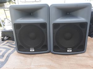 Peavy DJ SPEAKERS /TRIPOIDS for Sale in Haines City, FL