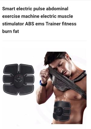 2018 conformtable Muscle Stimulator EMS Stimulation Body Slimming Beauty Machine Abdominal Muscle Exerciser Training Device Body for Sale in Fairfax, VA