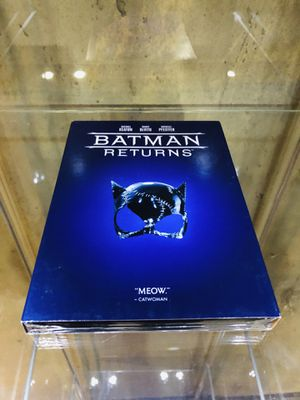 Batman Returns Dvd slip cover for Sale in Brighton, CO