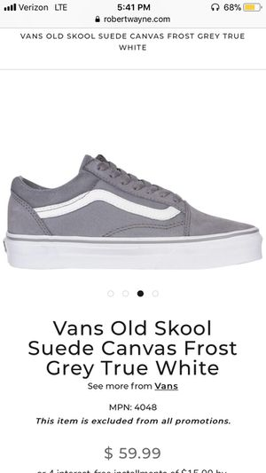 Vans old Skool for Sale in Santa Clara, CA