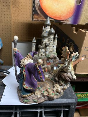 Wizard Candle Holder for Sale in Port St. Lucie, FL