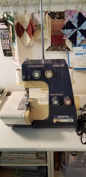 "Serger-Brand ""White"" Model 534 for Sale in Dallas, TX"