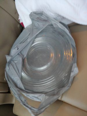 Glass 8-9 Plates for Sale in Richardson, TX