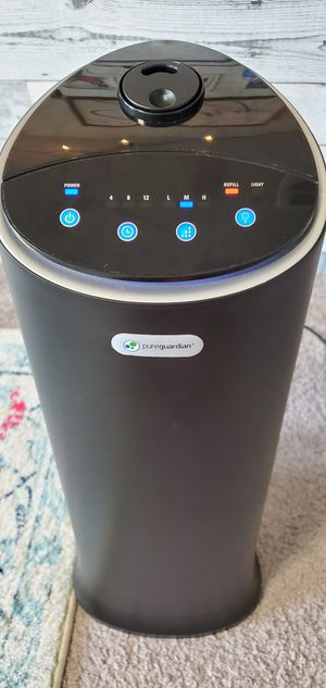 Pureguardian Ultrasonic Cool Mist Humidifier for Sale in Las Vegas, NV