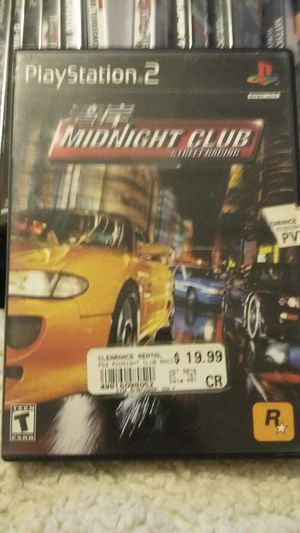 MIDNIGHT CLUB STREET RACING PS2 for Sale in Las Vegas, NV