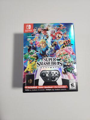 Super Smash Bros Ultimate collector's edition for Sale in Chicago, IL