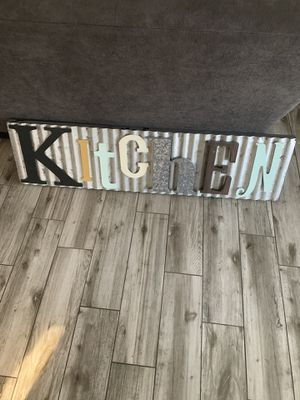 Kitchen sign for Sale in Sun City, AZ