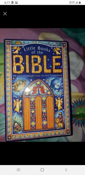 Childrens miniature bible set for Sale in Lebanon, TN