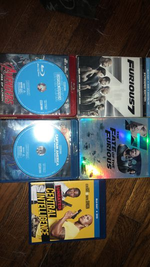 Movies Marvel BluRay DVDS for Sale in Columbia, SC