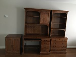5 Piece Ethan Allen Furniture for office, den or bedroom. If it's listed, it's available. Pls don't ask. Thx! for Sale in McLean, VA