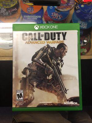 Call Of Duty Advanced Warfare XBOX ONE for Sale in Carmichael, CA