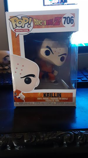 Dragonball Z Krillin Pop figure for Sale in Apopka, FL