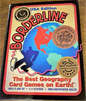 Borderline Educational USA Geography Card Game for Sale in Mountain View, CA