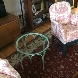 Wrought iron end/coffee table for Sale in Sudley Springs, VA