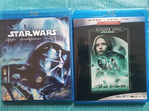 Blu Ray, blu ray 3d & DVD movies star wars alita disney marvel and more for Sale in Henderson, NV