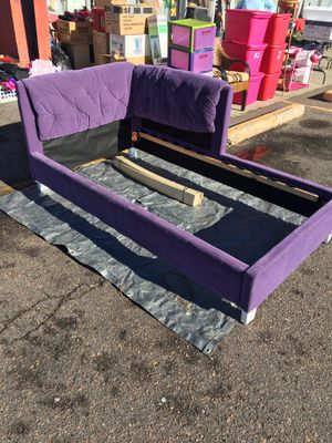 Purple twin bed for Sale in Denver, CO