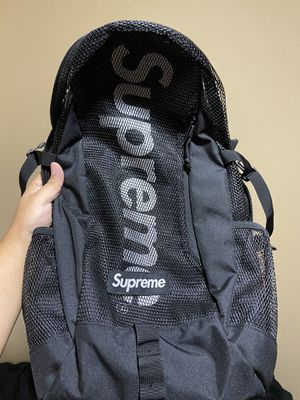 Supreme Black Backpack (SS20) for Sale in Whittier, CA