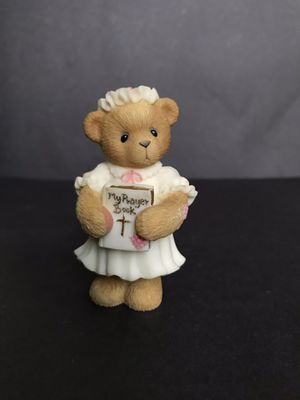 "Vintage Cherished Teddies Pastors Wife ""My Prayer Book"" Figurine for Sale in San Antonio, TX"