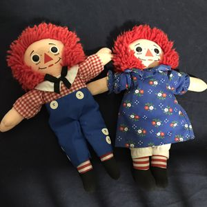 Raggedy Ann and Raggedy Andy Dolls for Sale in Scottsdale, AZ