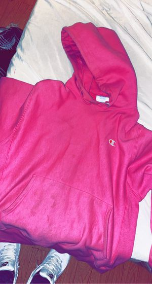 men's pink champion hoodie for Sale in MENTOR ON THE, OH