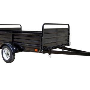 Detail K2 MMT5X7 5 ft. x 7 ft. Multi Purpose Utility Trailer (Black powder-coated) for Sale in Las Vegas, NV
