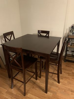 5 Piece Counter High Dining Table Set for Sale in San Francisco, CA