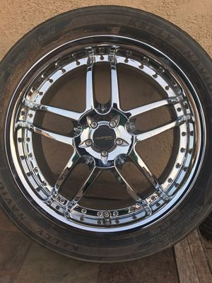 Liquid metal (18 inch rims universal fit) for Sale in Phoenix, AZ