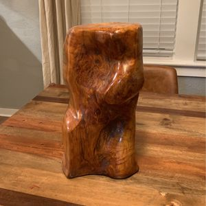 Beautiful Wood Plant Stand Or Side Table for Sale in Milwaukie, OR