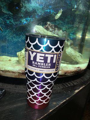 Mermaid Yeti Rambler 30oz New 🧜♀️ for Sale in Johnson City, TN