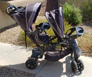 Baby Trend Sit N Stand Double Baby Toddler Stroller for Sale in Las Vegas, NV