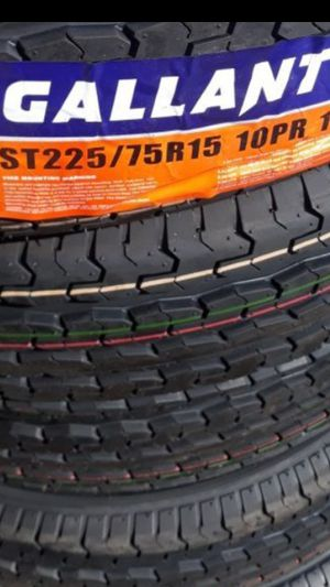 4] NEW TRAILER TIRES ST 225 75 15 for Sale in Los Angeles, CA