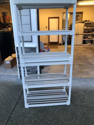 Storage shelves free for Sale in Olympia, WA