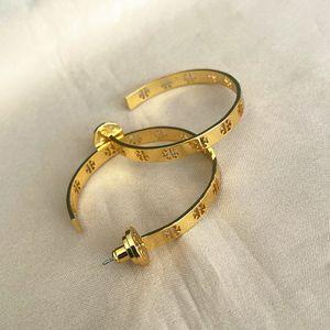 Tory burch hoop earrings for Sale in San Leandro, CA
