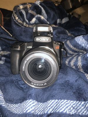 Sony a300 DSLR camera for Sale in Newfield, NJ