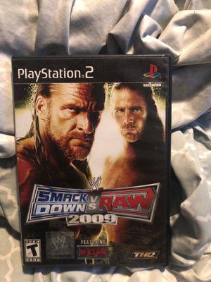 SmackDown Vs. Raw 2009 PS2 for Sale in North Las Vegas, NV